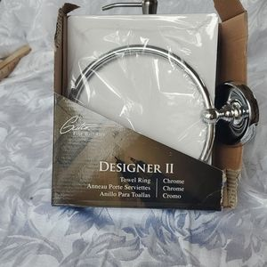 Gatco Designer II Towel Ring, new